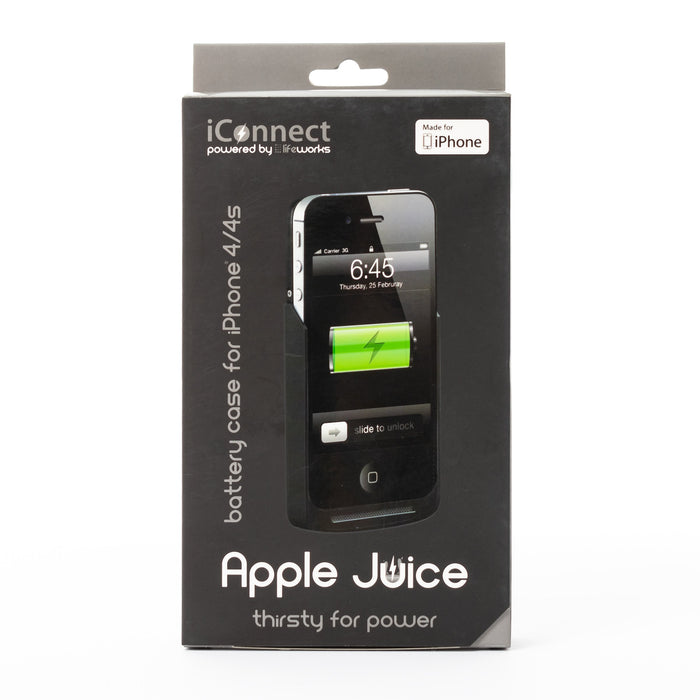 iConnect iConnect iPhone 4s Apple Juice Case - Mac-Warehouse