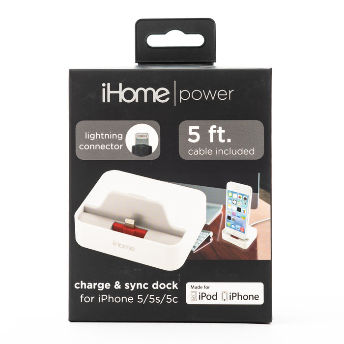 iHome Charge and Sync Dock