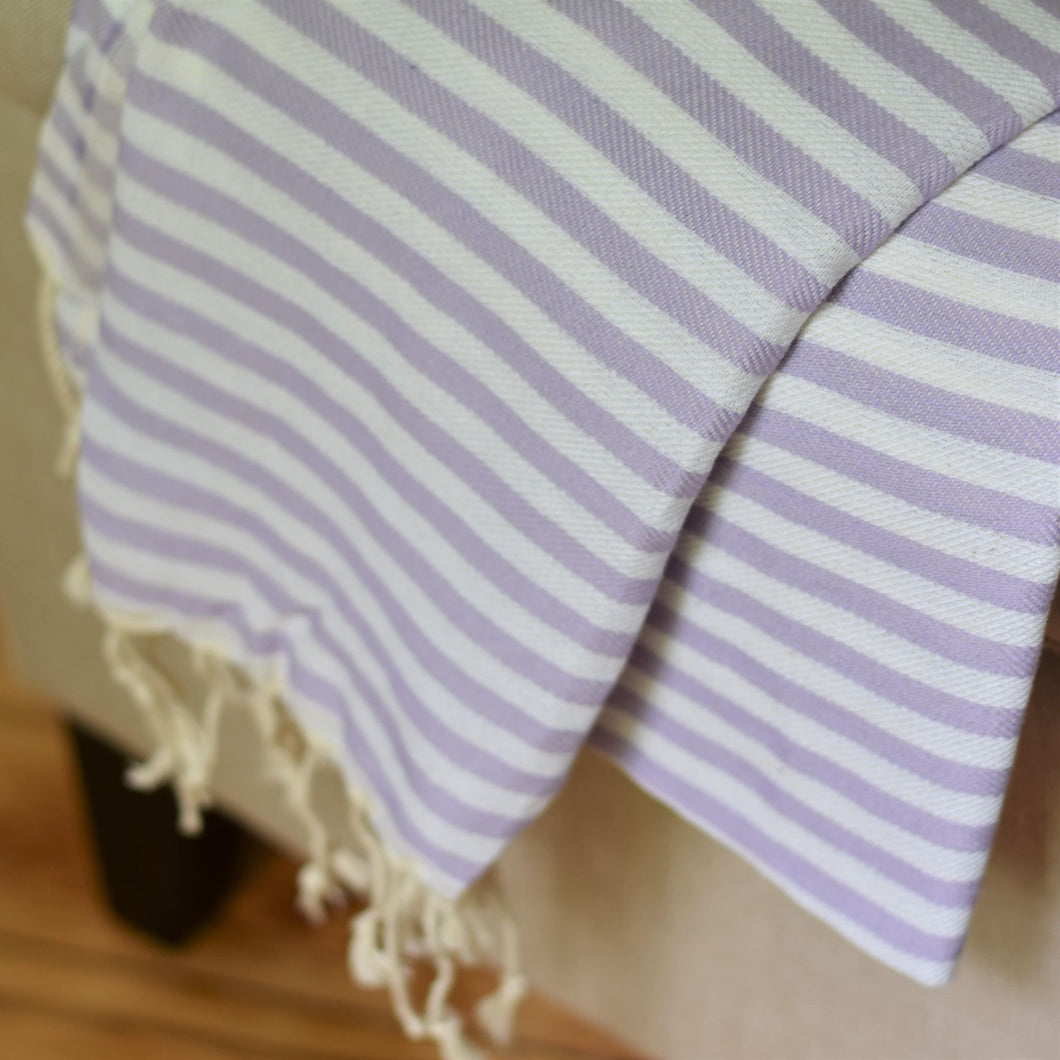 Turkish Towel - Beach House - Lavender