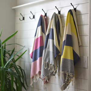 Peshh Towels, Seaside Collection, Peshtemal, Turkish Towel, Light Weight Towel