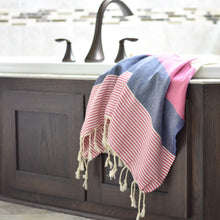 Peshh Towels, Seaside Pink, Peshtemal, Turkish Towel, Light Weight Towel