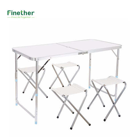 Aluminum Folding Table Adjustable height
