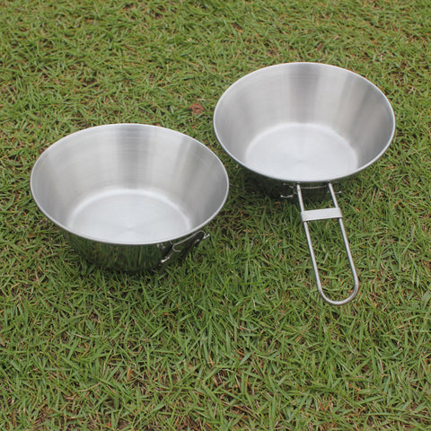 Folding Stainless Steel Cooking Pot