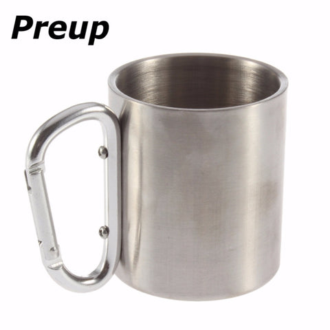 Stainless Steel Cup Folding Handle