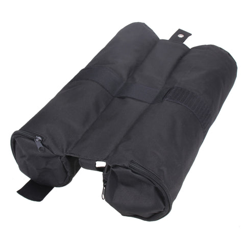 Portable Outdoor Camping Tent Fixed Sandbags Leg Weights Black