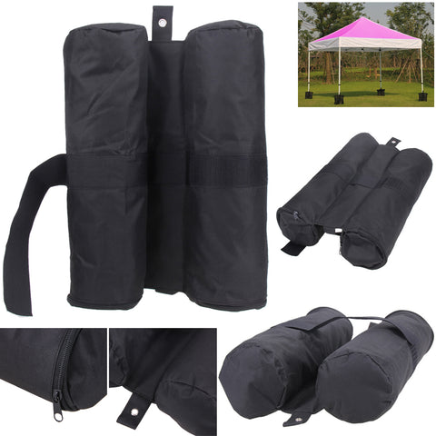 4pcs Portable Leg Weights for Pop up Canopy Party Tent Stand Weighted Feet Bag Fixing Sandbags Fixed Tent Practical Sandbags