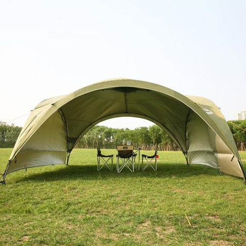 Summer outdoor super large camping canopy tent awning