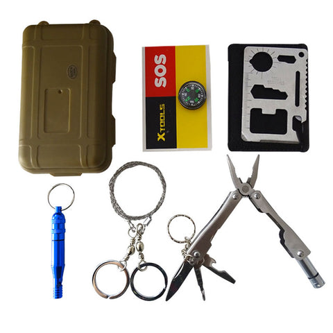 Multitools Pocket Survival Kit