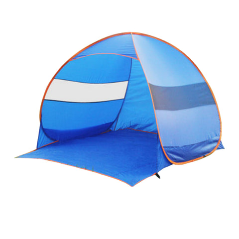 Automatic Outdoor Camping Hiking Tent 2-3 Person Portable Beach Tent Sun Shield Tent Canopy with Tent Pegs