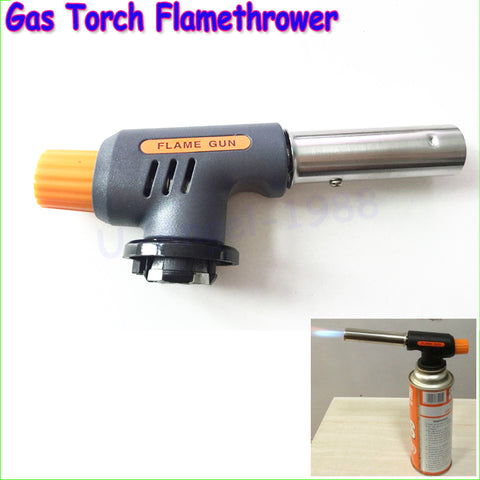 Gas Torch Flamethrower