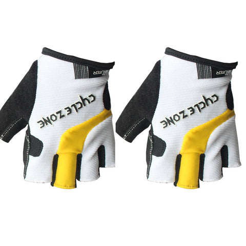 Pro Cycling Camping Hiking Gel Half Finger Gloves