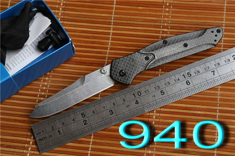 Axis folding carbon fiber Copper hunting Kitchen knife