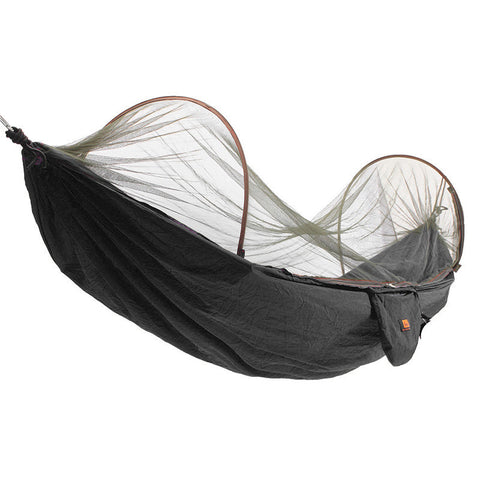 Outdoor Portable Parachute Hammock Swing Bed With Mosquito Net