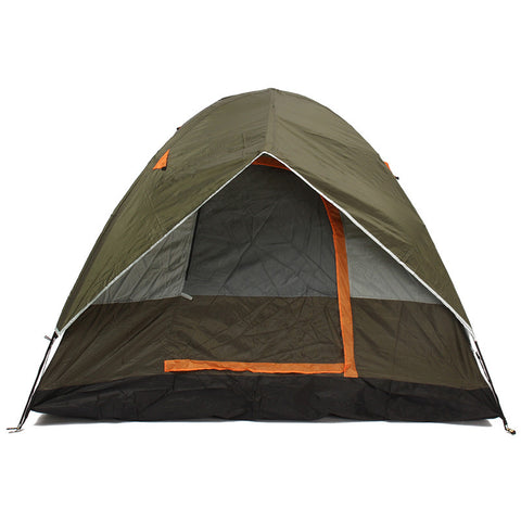 4 Persons Camping Tent Sunshade Double Waterproof Windproof Anti-UV