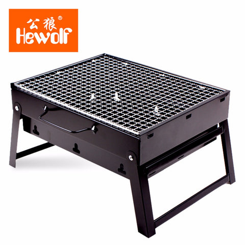 Portable Size Barbecue Grill Foldable
