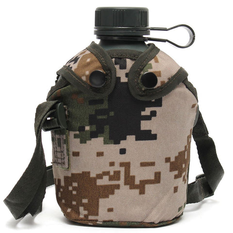 Military Tactical Water Bottle 1L