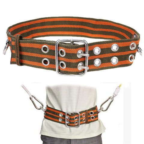 Outdoor Safety Mountaineering Rock Climbing Harness Belt Equipment Adjustable Camping Hiking Climbing Accessories