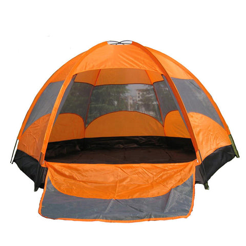 5-8 Person Hex Durable Family Tent