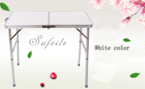 SUFEILE Outdoor folding table suitcase table Aluminum alloy