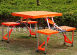Foldable Outdoor Attached table