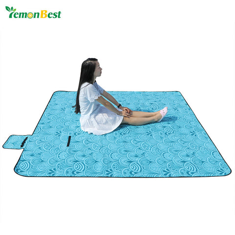 Household Portable Large Waterproof Picnic Blanket