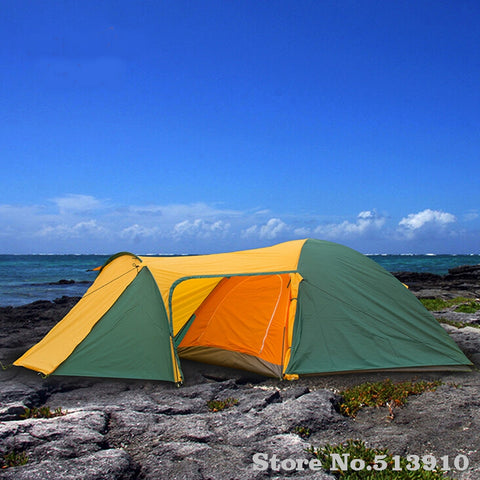 3-4 person Tent Waterproof Double Layer 3 Season