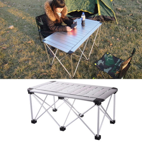 Folding Table Aluminum Alloy adjustable