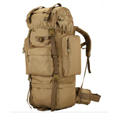 Male military backpack multi-functional waterproof