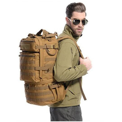 New large capacity backpack backpack travel waterproof bag female high grade 50 L Recreation  camouflage bag wearproof  bag