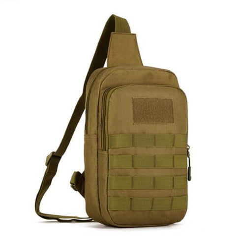 Mens chest backpack bag pockets