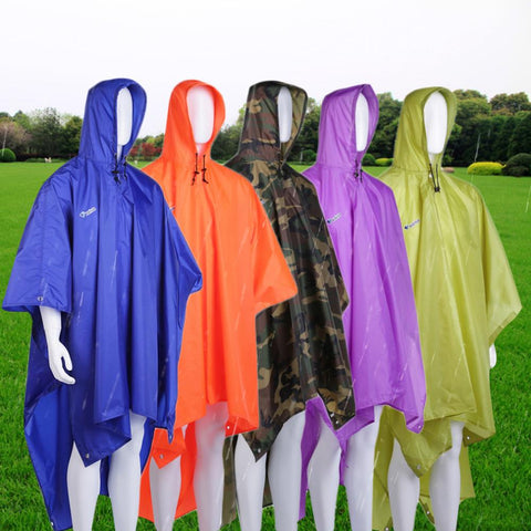 Three-in-one Raincoat Multifunctional  5 colors