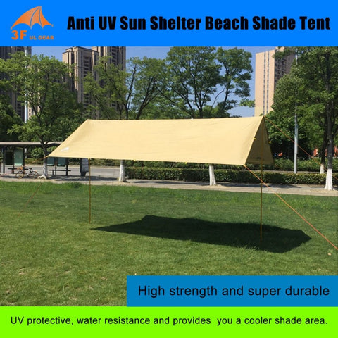 Anti UV Ultralight Sun Shelter Beach Shade Tent