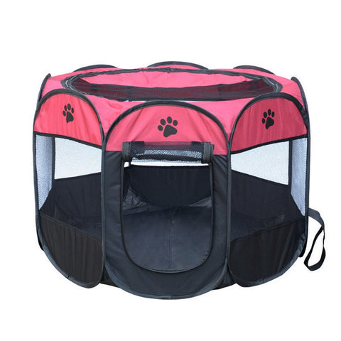 Folding Porable Pet Tent
