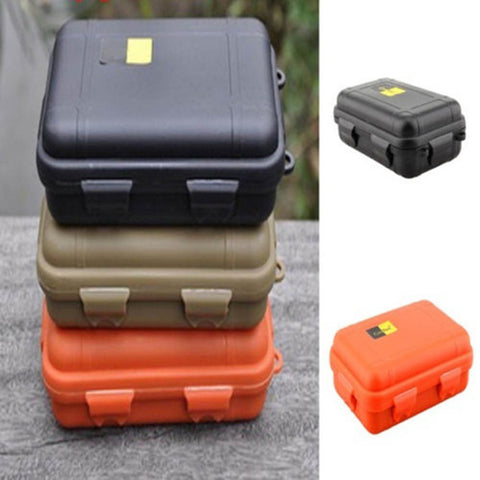Outdoor Camping Tactical Container Shockproof Waterproof Gear Tool Storage Box