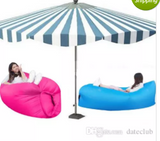 Outdoor Inflatable Air Sleeping Bag Hangout Lounger Air Boat Air Lazy Sofa Camping Sleeping Bed Fast Inflatable