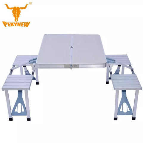 Aluminum folding tables and chairs Outdoor Picnic