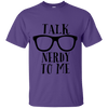 Talk Nerdy Cotton T-Shirt