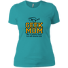Geek Mom Ladies T-Shirt