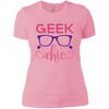 Geek Chick Ladies T-Shirt