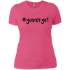 #gamergirl Ladies T-Shirt