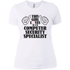 Computer SS Ladies T-Shirt