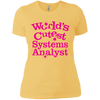 System Analyst Ladies T-Shirt