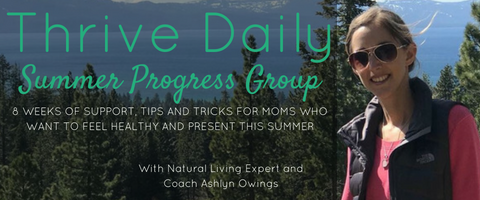 Thrive Daily - Summer Progress Group