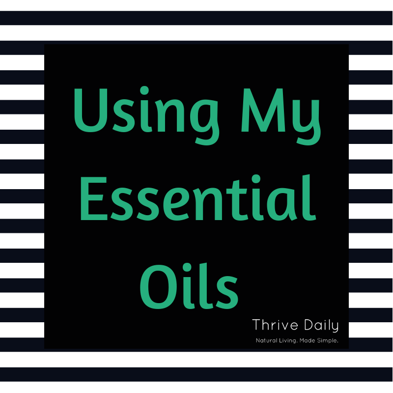 Using My Essential Oils (coaching session)