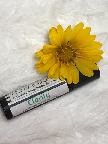 Clarity Roller Bottle (CLEAR AND FOCUSED BLEND)