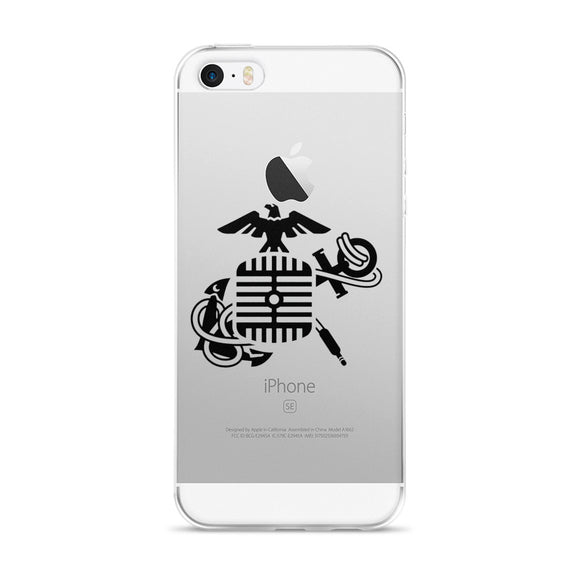Eagle Microphone and Anchor - iPhone 5/5s/Se, 6/6s, 6/6s Plus Case