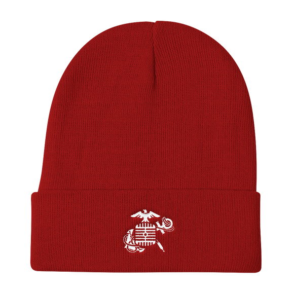 Eagle, Mic, and Anchor - Knit Beanie