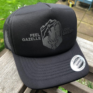 Black Foam Trucker Hat