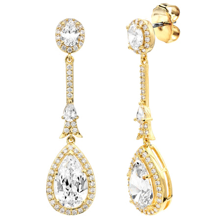 18 KGP Clear Regal Teardrops