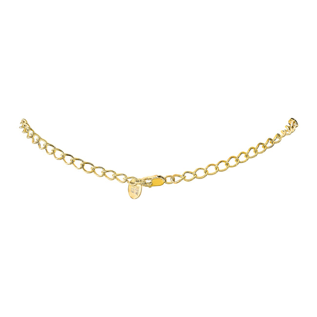 18 KGP Cable Chain Necklace Extension, 2.5""